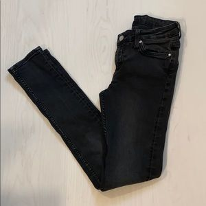 WEEKDAY jeans, black EUC